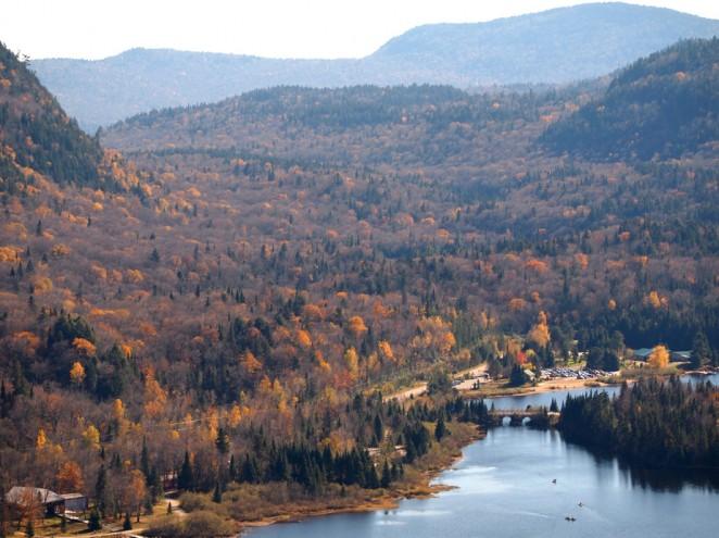 Lac Monroe in Parc du Mont-Tremblant